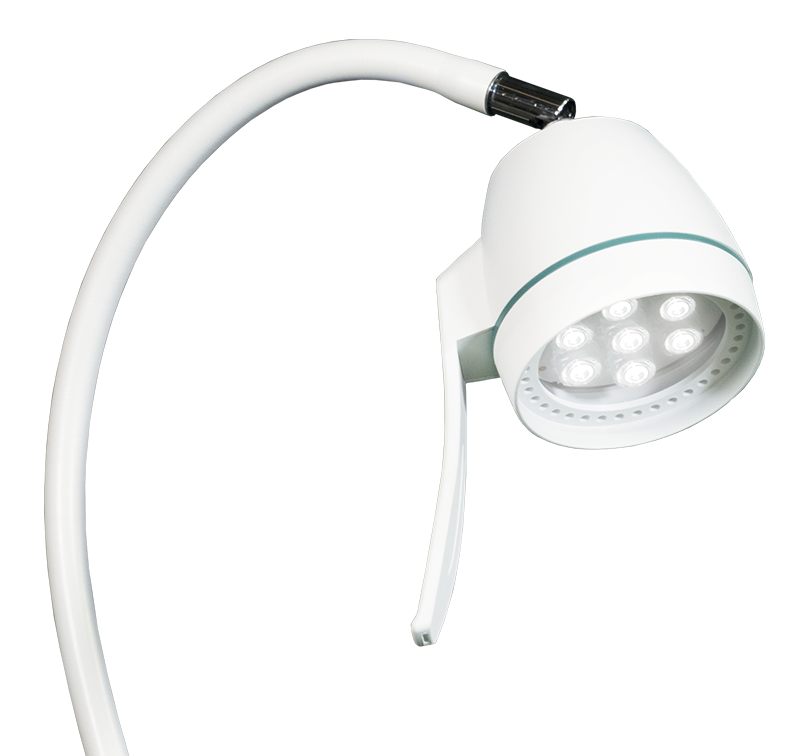 LED lamp hepta